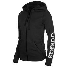adidas Linear FZ Hoody Ladies | Full Zip | Jacket | Training