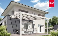 Glasdachsysteme – NYON GP3100 | Sonnenschutz und Wetterschutz mit STOBAG Led Spots, Led Stripes, Pergola Pictures, Roofing Systems, House With Porch, Glass Roof, Aluminium, Patio, Outdoor Decor