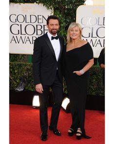 Hugh Jackman  As we've seen time and time again, nailing the red carpet is all about the little things. Hugh's tux has the low button stance, perfect fit, and proportionally fluffy bow tie to hit it just right on all marks.