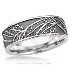 Custom wedding band rings