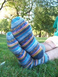Chaussettes - 2012  #tricot #knit #chaussettes #socks