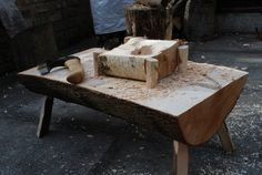 Simon Hill Green Wood Carving