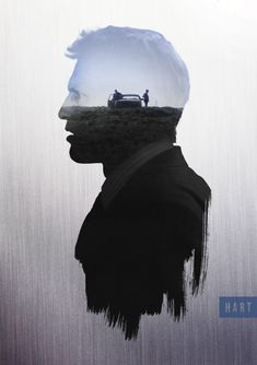 True Detective 'Hart' Character Poster by Circusbrendan on DeviantArt Exposition Photo, Double Exposition, Graphic Design Posters, Graphic Design Inspiration, True Detective Season 1, Double Exposure Photography, Keys Art, Alternative Movie Posters, Poster On
