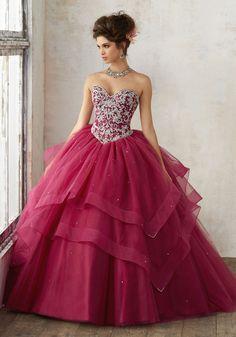 Mori Lee Quinceanera Dress Style 89128