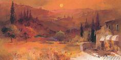 Willem Haenraets - Romantic Tuscany II