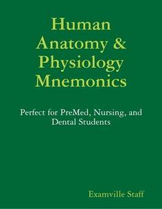 Human Anatomy & Physiology Mnemonics. #Psychological #Disorders #hawaiirehab www.hawaiiislandrecovery.com