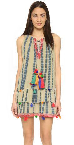 ONE by Hemant and Nandita Tie Dye Dress | SHOPBOP