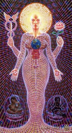 Visionary Art by Alex Grey