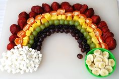 Fruity Rainbow - 10 Fun St. Patrick's Day Foods - ParentMap