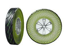 No More Flats: Bridgestone's Latest Tire is Airless