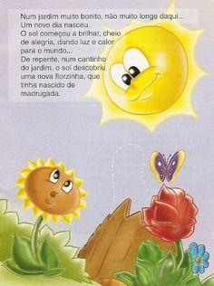 """História Infantil """"O Girassol Solitário"""""""
