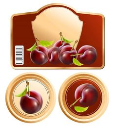 Этикетка для банки Printable Labels, Printables, Free Printable, Prune Plum, Jam Jar Labels, Plum Jam, Printing Labels, Craft Gifts, Decoupage