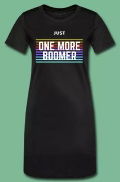 Click the link to find out more! Womens T Shirt Dress, Ok Boomer, Link, Mens Tops, Dresses, Design, Fashion, Vestidos, Moda