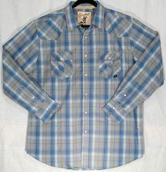 Carbon Western Men's Long Sleeve Shirt - Grey   $43.00