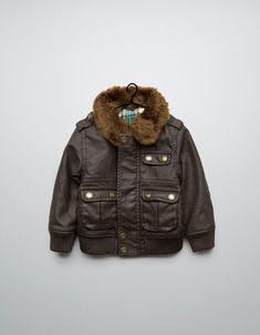 fc8a775a31c0 JEG needs a leather jacket like mama- ZARA Kids Baby Boy
