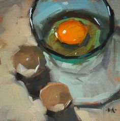 유 Still Life Brushstrokes 유 Nature Morte Painting by Carol Marine