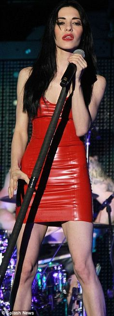 The Veronicas took to the stage on Saturday with their powerful voices and tight, latex dresses for an energetic performance at The Forum in Inglewood, California. Latex Lady, Latex Dress, Celebs, Celebrities, Skin Tight, 5 Seconds Of Summer, Punk Rock, Veronica, Acting