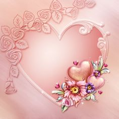 Image du Blog zezete2.centerblog.net Valentine Theme, Valentines, Burberry Wallpaper, Roses Pink, Mom In Heaven, Lovers Day, Borders And Frames, I Love Girls, Heart Art