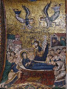 Palermo - Italy - Martorana Church - Byzantine Mosaic