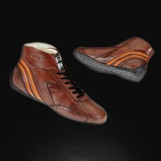 Vintage racing shoes - CARRERA LOW BOOTS