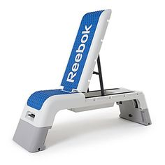 Reebok Professional Deck Workout Bench WhiteDark Blue *** You can find out more details at the link of the image.