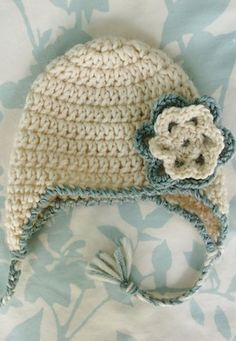 [Free Crochet Pattern] This Precious Earflap Hat Is So Easy And Fast To Make, You Won't Believe It!