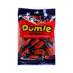 Fazer Dumle Original Soft Toffee Covered With Milk Chocolate 220g bag