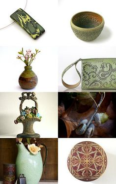 Hallowed Green by Pat on Etsy--Pinned with TreasuryPin.com