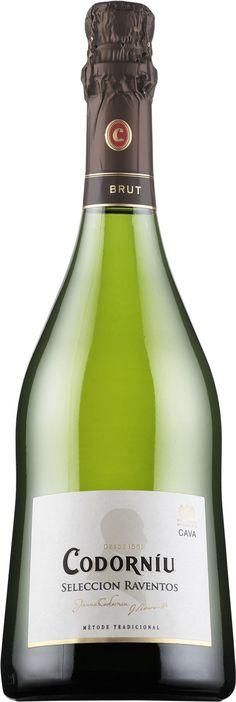 Chardonnay 50% / Xarel-lo 25% / Macabeo 25% NV Cava Brut *Selección Raventos* - Bodega Codorniú, San Sadurní de Noya, Cataluña, España ---------------- Terroir: D.O. Cava - Cataluña, España ------------------ Método champenoise