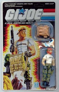 G.I. Joe: Outback (1987)  I had this guy too....didn't realize how badass he was until just now...