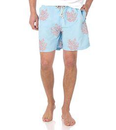 NAVYLIFE Mens Sugars Kull Rose Summer Summer Beach Shorts Swim Trunks