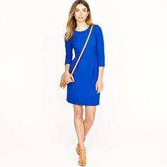 My favorite color- and this dress can go anywhere- J.Crew