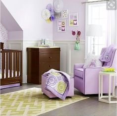 Talk about a chic and sophisticated baby nursery! The Circo 4-Piece Crib Bedding Set in Purple Medallion is a gorgeous way to welcome your little one into the world. The purple and lime color combo and pattern mixing will grow with your child in the years to come. This bedding set includes: a fitted sheet, dust ruffle, comforter and baby blanket. Mix and match with other pieces in the Purple Medallion Baby Girl Collection to create the nursery of your little oneÍs dreams. 3d