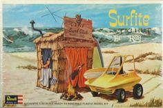 Revell Surfite with tiki hut model kit monogram Ed Big Daddy Roth hot rod car Hot Rods, Ed Roth Art, Models Men, Mini Car, Plastic Model Cars, Model Cars Kits, Tiki Hut, Kustom Kulture, Vintage Models
