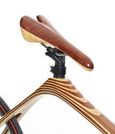 Carbon wood bike le vélo fait main par Cwbikes