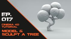 In this Cinema 4D Tutorial I will show you how to Model and Sculpt a tree. We will model the base mesh and then go into sculpting mode where I will show you some…