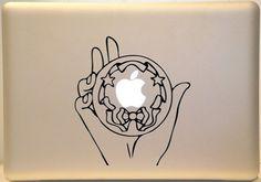 Sailor moon MacBook.