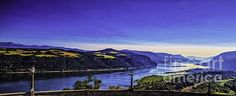 Columbia River Gorge, by Nancy Marie Ricketts