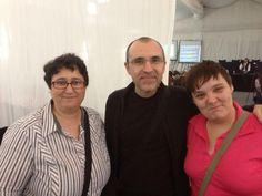 Con dos grandes profesionales, Dolores Vela(@doloresvela) y Alfonso Alcántara(@yoriento)