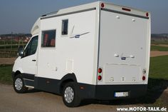 Seitz Tikro X-Track - a Sprinter camper built on a 4x4 Sprinter 4Motion chassis.