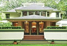 Check out the 7 Frank Lloyd Wright homes for sale in the Chicago area