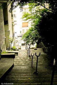 Paris. By NikitaDB. Montmartre. XVlll IG *