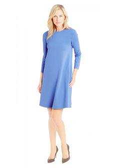 Swing Dress in Sky Blue in Sky Blue by J.McLaughlin