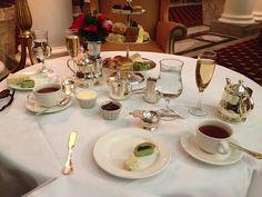 Christmas High Tea at the Jefferson Hotel in Richmond, VA.