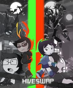 HIVESWAP IS FINALLY OUT!! I hope you all enjoy this game! :)