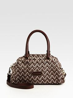 Marc by Marc Jacobs Pot Holder Cotton & Leather Lily Satchel
