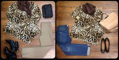 Let this leopard tunic from Clara Sun Woo take you from day to dinner! $62 XS-L available!