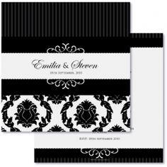 Auravella regal wedding invitations