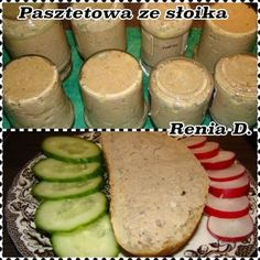 CO MI W DUSZY GRA: PASZTETOWA ZE SŁOIKA Gra, Preserves, Nutella, Pickles, Diy And Crafts, Recipies, Dairy, Food And Drink, Cheese