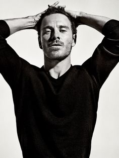 Michael Fassbender. Photography by Sebastian Kim.